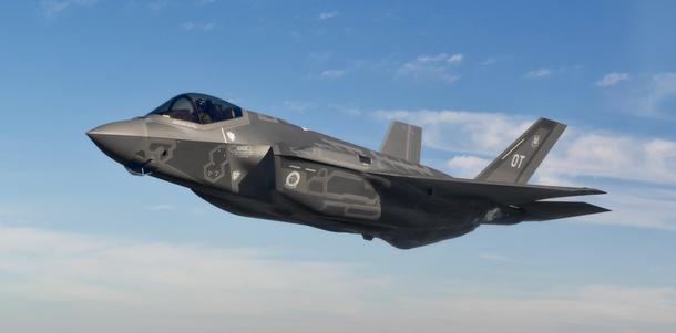 F-35 Carrier VTOL Testing