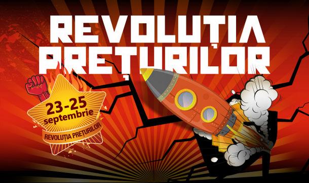 Cele mai atragatoare oferte la Revolutia Preturilor 23-25 septembrie la eMAG.