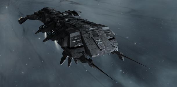 Sniper Cormorant in EVE Online.