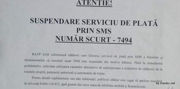 RATP zice ca frauda este defectiune tehnica.