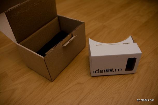 Ochelari VR imbunatatiti Cardboard facuti in Iasi! + Giveaway!