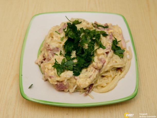 How to: Spaghete carbonara