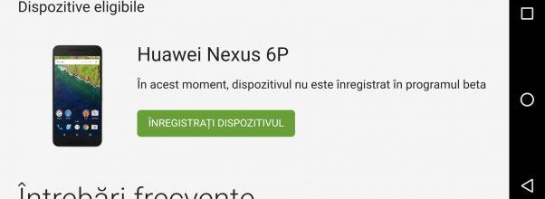 Cum sa fortezi update-ul la Android 8.0 Oreo pe Nexus 6P (si inca alte 3 telefoane)