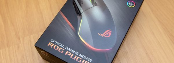 Unboxing mouse Asus ROG Pugio
