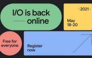 Google I/O 2021 Live Blog.